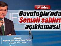 Başbakan Davutoğlu'ndan flaş beyanatlar !!