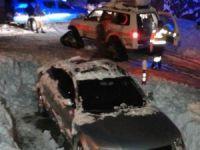 TIR şoförü 60 saatin akabinde kurtarıldı!