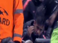 Messi Penaltıyı Kaçırdı Neymar Taraftarla Tartıştı