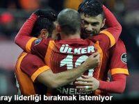 Galatasaray Liderliği Bırakmak İstemiyor