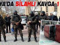 Konya'da alacak verecek  kavgası ölü ve yaralı var...