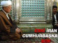 Eski İran cumhurbaşkanı'na şok şok