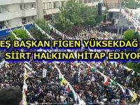 Hdp Siirt Mitingi Figen Yüksekdağ