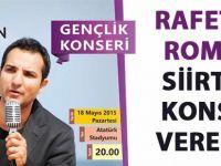 Rafet El Roman Siirt'te konser verecek