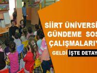 Siirt Üniversitesi Gençlik ve Kültür Topluluğu Çocukların Güler Yüzü Olmaya Devam Ediyor