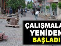 Siirt Belediyesi Yol ve Kaldırım Çalışmaları Sürüyor