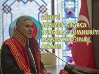 Yargıtay Cumhuriyet Başsavcısı Mehmet Akarca Görevine Başladı.