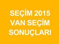 VAN-ERCİŞ Genel Seçim Sonuçları Açıklandı