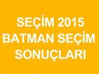 BATMAN-SASON Genel Seçim Sonuçları-2015