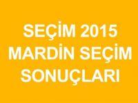 MARDİN-SAVUR  Genel Seçim Sonuçları-2015