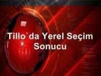Tillo Belediyesi Seçimlerini Ak Parti Kazandı