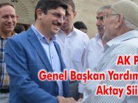 AK Parti Genel Başkan Yardımcısı Aktay Siirt'te