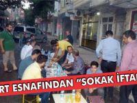 "SİİRT ESNAFINDAN ""SOKAK İFTARI"""