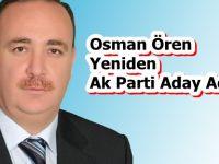 Osman Ören Ak Parti Aday Adayı Başvurusunu Yaptı