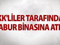 Siirt Komando Taburuna Taciz Ateşi Açıldı