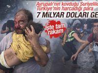 Suriye'liler İçin 7 Milyar Dolar Harcandı
