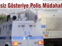 Kurtalan'da İzinsiz Gösteriye Polis Müdahale ETti