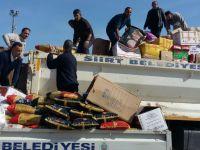Siirt Belediyesi'nden Cizreli 500 aileye yardım