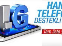 4.5G'yi destekleyen telefon markaları tam liste