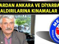 Memur Sen'den ve Gazeteciler Cemiyeti'nden kınama