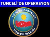 Tunceli Ovacık'ta terör operasyonu - Tunceli Son Dakika Haberleri