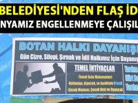 Siirt Belediyesi: Yardım kampanyamız engellenmek isteniyor