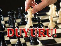 Siirt Okullar Arası Satranç Turnuvası tarihi değişti