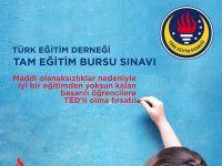 TED'in Tam Eğitim Bursu Sınavı hangi tarihte?