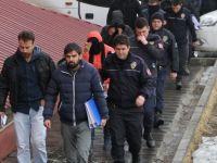 Van'da fuhuş operasyonunda 20 kişi adliyede