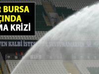 Fenerbahçe Bursaspor maçına sulama krizi damgasını vurdu!