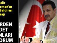 Siirt Üniversitesi Rektörü Murat Erman: Terörden medet umanları kınıyorum