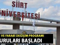 Siirt Üniversitesi Erasmus ve Farabi Değişim Proglarına başvurular başladı - Siirt Haber