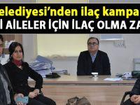 Siirt Belediyesi'nden Cizre için ilaç kampanyası - SİİRT HABER