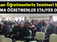 Siirt'te yeni atanan öğretmenlerin Danışman öğretmenlerine seminer - Siirt Haber