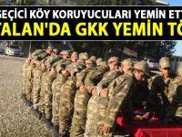 Kurtalan'da Geçici Köy Koruyucuları yemin töreni yapıldı - Siirt Haber