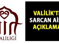 Siirt Valiliği'nden Sarcan Ailesi açıklaması