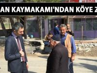 Kurtalan Kaymakamı Oktay Ateş'ten Uluköy'e ziyaret