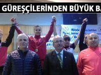 Siirt'in bayan güreşçilerinden büyük başarı- Siirt Haber