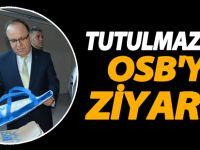 Vali Mustafa Tutulmaz, OSB'de incelemelerde bulundu