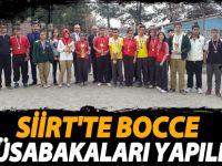 Siirt'te Bocce müsabakları yapıldı