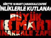 Siirt'te 18 Mart Çanakkale Zaferi Ve Şehitlerimiz Çeşitli Etkinliklerle Anılacak