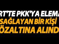 Siirt'te PKK'ya Eleman Sağlayan 1 Kişi Gözaltına Alındı