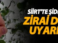 Siirt'te meteorolojik uyarı