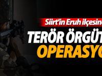 Siirt'teki terör operasyonu