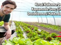 Siirt'te genç çiftçiler desteklenecek