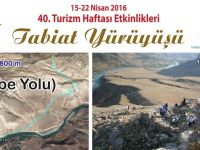 Siirt'te Tarihi Akabe Yolunda Doğa Yürüyüşü Düzenleniyor