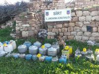 Eruh'ta el yapımı patlayıcı madde ele geçirildi