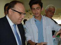 Türk Telekom Fen Lisesi'nde 'Tübitak Bilim Fuarı' Açıldı