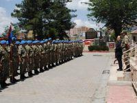 Vali Mustafa Tutulmaz, İl Jandarma Komutanlığını Ziyaret Etti