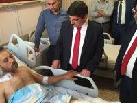 Yasin Aktay darbe girişimi gazilerini ziyaret etti
